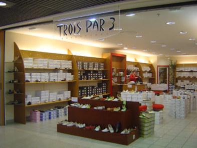 Trois Trois Trois par 3 : magasin de chaussures pr e50e60